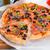 оливкового · пиццы · продовольствие · древесины · сыра · нефть - Сток-фото © dar1930