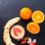 pêssego · banana · isolado · branco · fruto - foto stock © dar1930