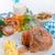 porc · Pâques · alimentaire · fête · restaurant · plaque - photo stock © dar1930