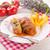 repolho · rolar · prato · batatas · carne · salsa - foto stock © dar1930