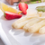 White asparagus with green sauce stock photo © Dar1930