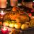 christmas · gebakken · gans · appels · vintage · stijl - stockfoto © dar1930