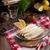 asparagi · insalata · capre · formaggio · primavera · cipolla - foto d'archivio © dar1930