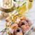 coeur · gâteau · d'anniversaire · isolé · blanche · alimentaire - photo stock © dar1930