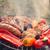 焼き · ソーセージ · グリル · ディナー · 脂肪 · ホット - ストックフォト © dar1930