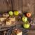 リンゴ · バニラ · プリン · ナッツ · コーヒー · フルーツ - ストックフォト © dar1930