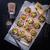 sütemény · sajt · szalonna · háttér · hús · tábla - stock fotó © dar1930