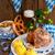 domuz · eti · gıda · restoran · kırmızı · et · birahane - stok fotoğraf © dar1930