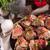 carne · di · maiale · dolce · pane · verde · cipolle · carote - foto d'archivio © dar1930