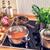 chef · restaurante · cocina · estufa · pan · fuego - foto stock © dar1930
