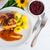 csirkemell · zöldség · gyümölcs · étel · háttér · asztal - stock fotó © dar1930