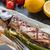 alla · griglia · sgombri · asparagi · pesce · ristorante · verde - foto d'archivio © dar1930