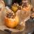 karamell · dió · közelkép · étel · édesség - stock fotó © dar1930
