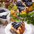 cheesecake · mirtilli · alimentare · frutta · sfondo · ristorante - foto d'archivio © Dar1930