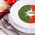 tomato spinach cream soup stock photo © dar1930