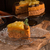 vegan · torta · di · carote · compleanno · frutta · bianco · dessert - foto d'archivio © dar1930