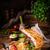 greco · pollo · piatto · bordo · fresche · barbecue - foto d'archivio © dar1930