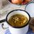 vegetariano · guarda-sol · cogumelo · sopa · restaurante · pão - foto stock © dar1930