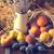 maíz · manzana · cesta · orejas · campo · verde - foto stock © dar1930