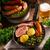 gıda · yeşil · kış · yaprakları · akşam · yemeği · pişirmek - stok fotoğraf © Dar1930