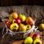 citromsárga · piros · almák · ág · gyümölcsös · fa - stock fotó © dar1930