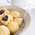 potato dumplings with plums full stock photo © dar1930