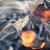 brandend · houtskool · brand · hout · achtergrond · rook - stockfoto © Dar1930