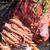 свинина · барбекю · соус · катиться · корнишон · продовольствие - Сток-фото © dar1930