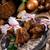 a · la · parrilla · setas · salsa · alimentos · placa · barbacoa - foto stock © dar1930