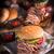 domuz · eti · sandviç · uzun · et · taze - stok fotoğraf © dar1930