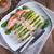 гриль · лосося · спаржа · рыбы · обеда · Салат - Сток-фото © dar1930