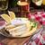 molho · básico · cozinha · francesa · servido · barco · ingredientes - foto stock © dar1930