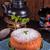 cheesecake · çay · dilim · fincan · gıda · meyve - stok fotoğraf © dar1930