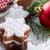 корицей · печенье · продовольствие · фон · белый · Рождества - Сток-фото © dar1930