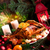 christmas · gans · appel · vruchten · glas · kip - stockfoto © dar1930