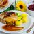 lezzetli · ördek · baharatlar · Asya · kırmızı · plaka - stok fotoğraf © dar1930