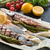Grilled mackerel with asparagus stock photo © Dar1930
