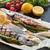 grelhado · cavala · espargos · peixe · restaurante · verde - foto stock © Dar1930