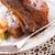 ızgara · restoran · yeşil · kırmızı · et - stok fotoğraf © Dar1930