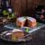 rusztikus · stílus · sajttorta · egyszerű · bogyók · hely - stock fotó © dar1930