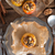 maçã · caramelo · isolado · branco · fresco · doce - foto stock © dar1930