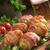 verde · cerdo · lomo · cacahuates - foto stock © dar1930