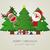 トナカイ · サンタクロース · クリスマス · ギフトボックス · 赤 · ボックス - ストックフォト © dariusl