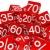 yüzde · sayılar · kırmızı · beyaz · örnek · arka · plan - stok fotoğraf © dariusl