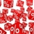 red sale percent cubes stock photo © dariusl