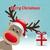 ren · geyiği · hediye · kış · neşeli · Noel · arka · plan - stok fotoğraf © dariusl
