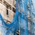 Bauarbeiter · Bohrer · Fenster · Haus · Mann - stock foto © darkkong