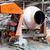 beton · keverő · hátsó · nézet · építkezés · teherautó · ipar - stock fotó © darkkong