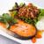 salmone · pesce · ristorante · verde · limone - foto d'archivio © darkkong