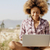 girl working with a laptop outdoors stock photo © dash
